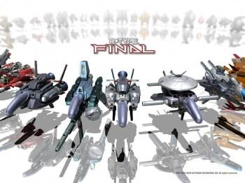 R-Type_Final_Ships