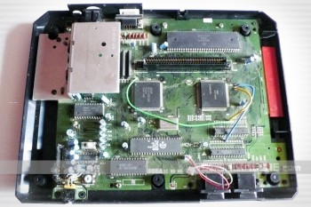 Earlier revision of a Japanese Sega Megadrive Motherboard.
