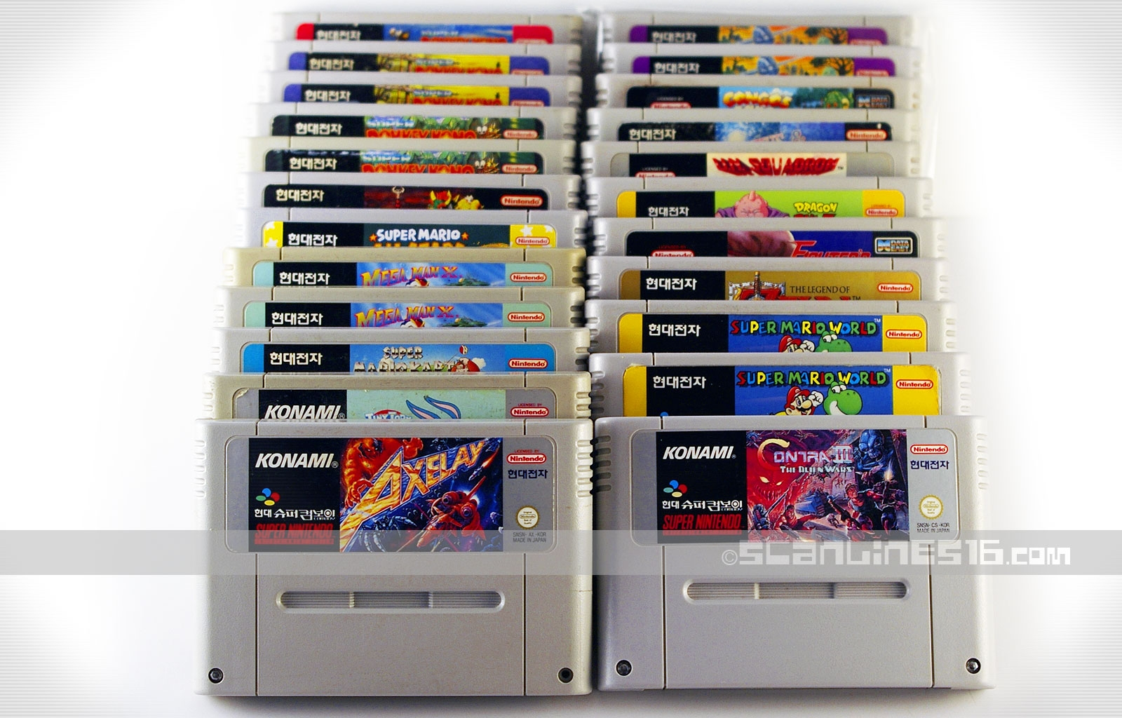 Super Comboy Loose Cartridges taken from my personal collection.